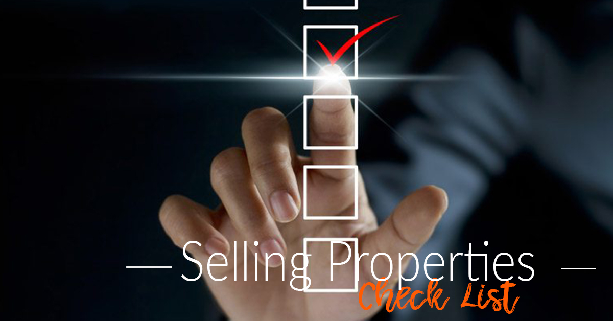 SELLING PROPERTY - CHECK LIST